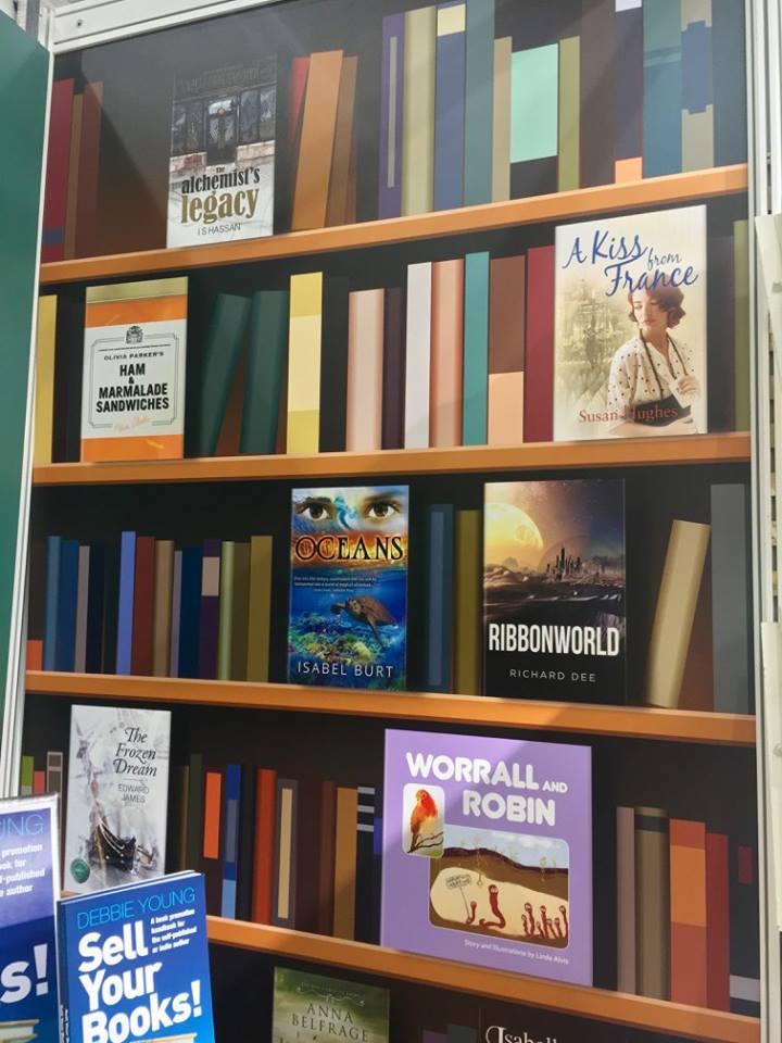 Ribbonworld at London Book Fair4