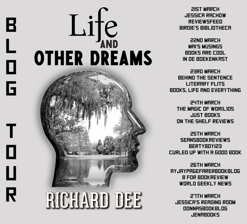 Life and Other Dreams, Blog tour banner